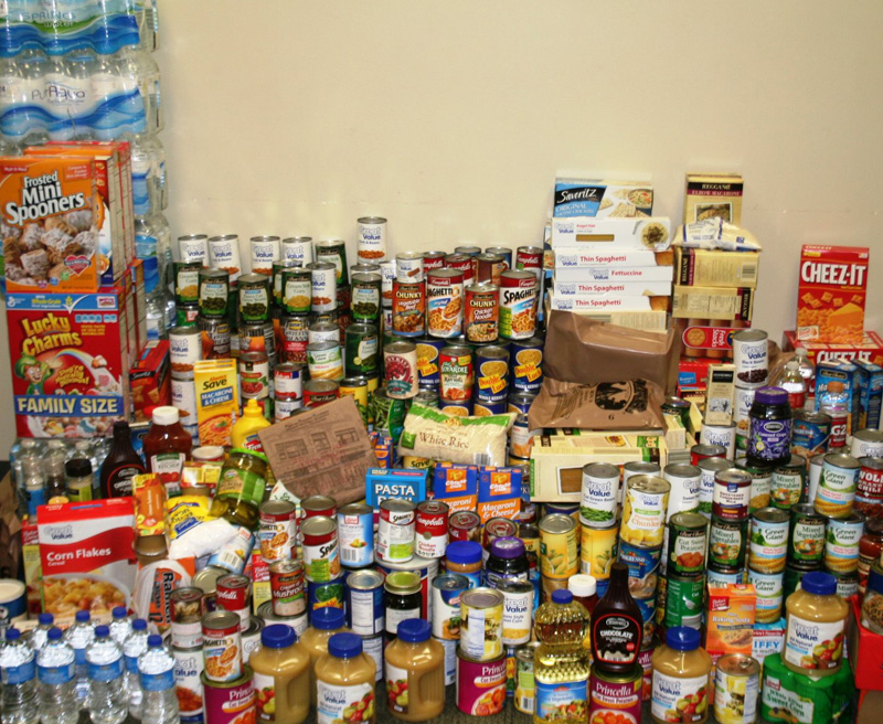 Christmas Food Drive - Fort Knox