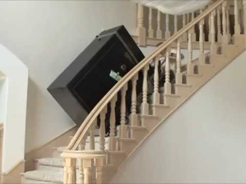 Transporting A Gun Vault To An Upstairs Location Fort Knox