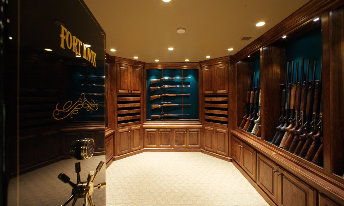 Executive vault fort knox for Custom home safes